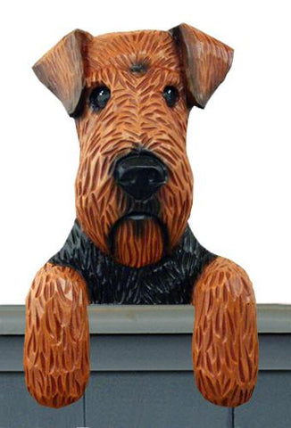Welsh Terrier Door Topper