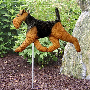 Welsh Terrier Garden Stake