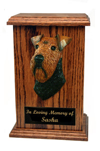 Welsh Terrier Memorial Urn