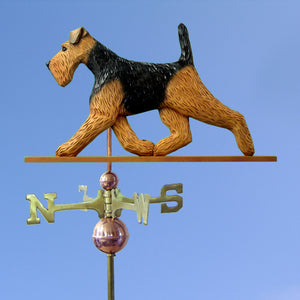 Welsh Terrier Weathervane - Michael Park, Woodcarver