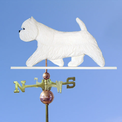 West Highland Terrier Weathervane - Michael Park, Woodcarver