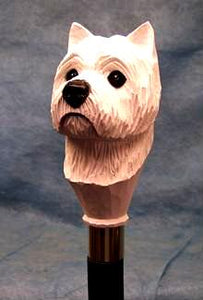West Highland Terrier Walking Stick