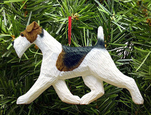 Fox Terrier (wire) DIG Ornament