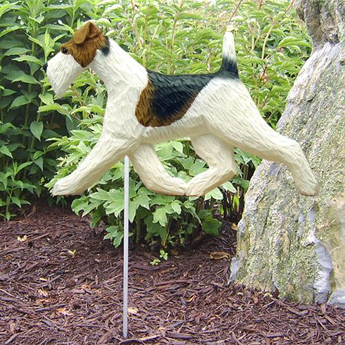 Fox Terrier (Wire) Garden Stake