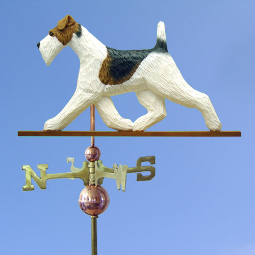 Wire Fox Terrier Weathervane - Michael Park, Woodcarver