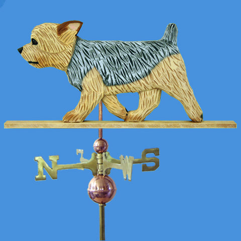 Yorkshire Terrier (Puppy Clip) Weathervane - Michael Park, Woodcarver