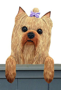 Yorkshire Terrier Door Topper