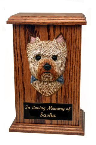 Yorkshire Terrier (Puppy Clip) Memorial Urn