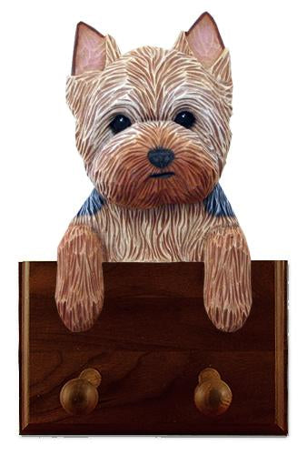 Yorkshire Terrier (Puppy Clip) Leash Holder