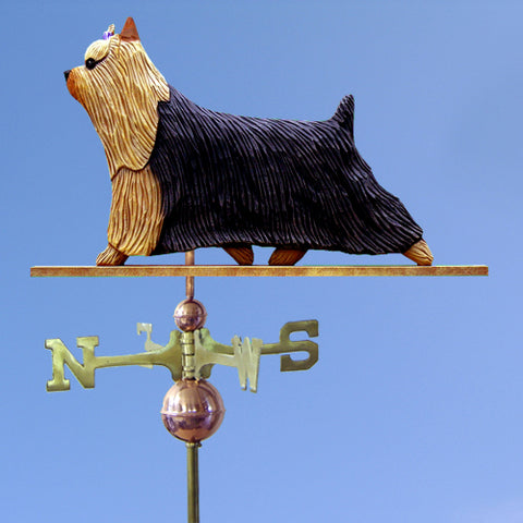 Yorkshire Terrier Weathervane - Michael Park, Woodcarver