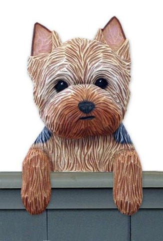 Yorkshire Terrier (Puppy Clip) Door Topper