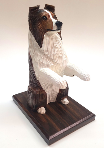 Sable Shetland Sheepdog Bookend