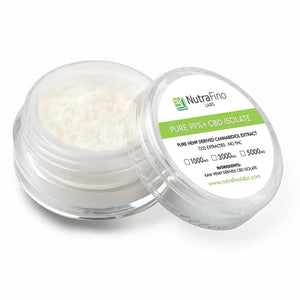 Nutrafino Labs: 99%+ CBD Isolate