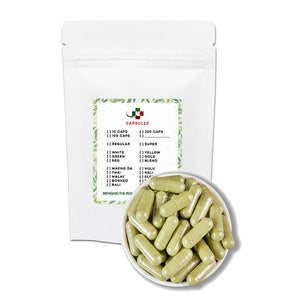 GIFT: 100 capsules - Leave a NOTE with your strain choice