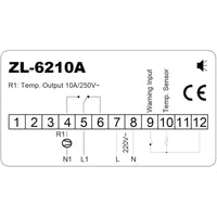 ZL-6210A, Economic, Temp. Controller, Cold Storage, Free Shipping