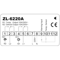ZL-6220A, Economic, Temperature Controller, Free Shipping