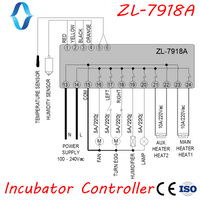 ZL-7918A, Multi-function Incubator Controller, Manual turn, Free Ship