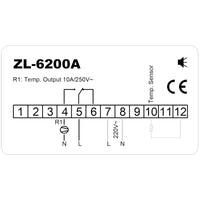 ZL-6200A, Temp. Controller,  (STC-200 enhanced), High Quality, Free Ship