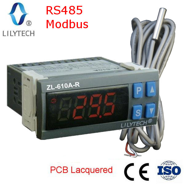 ZL-610A-R, RS485 Modbus, Cold Storage Controller, Free Shipping