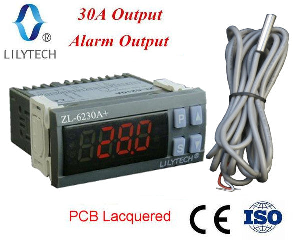 ZL-6230A+, 30A output, Economic, Temperature Controller, Free Shipping