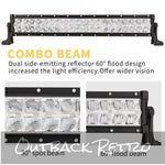 22inch LED Light Bar CREE 4x4