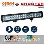 20inch Osram LED Light Bar 5D 126w Sopt Flood Combo Beam Work Driving Lamp 4wd