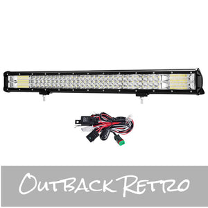 28Inch Philips LED Light Bar Flood Spot Combo Offroad Driving Lamp 4WD 4x4