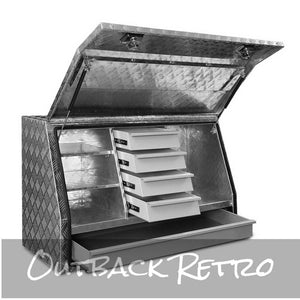 Giantz Aluminium Toolbox with Drawers