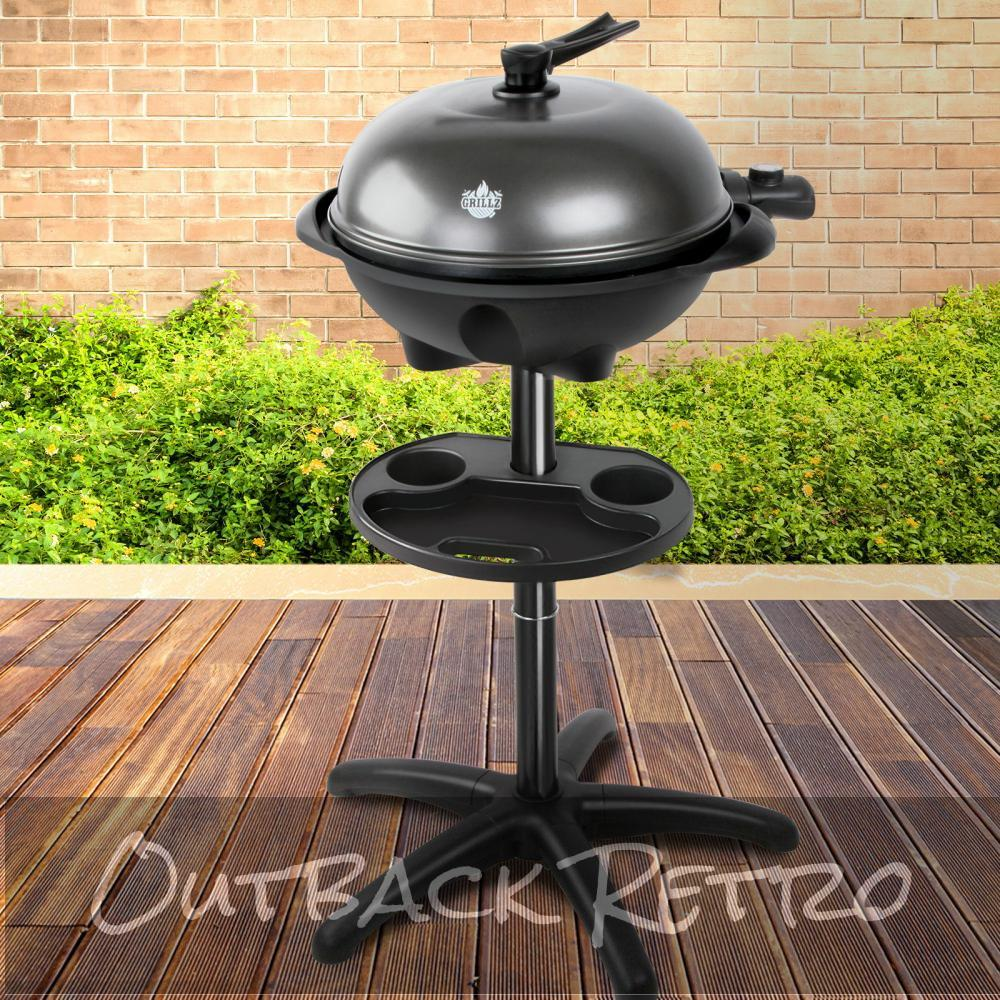 Grillz Portable Electric BBQ With Stand