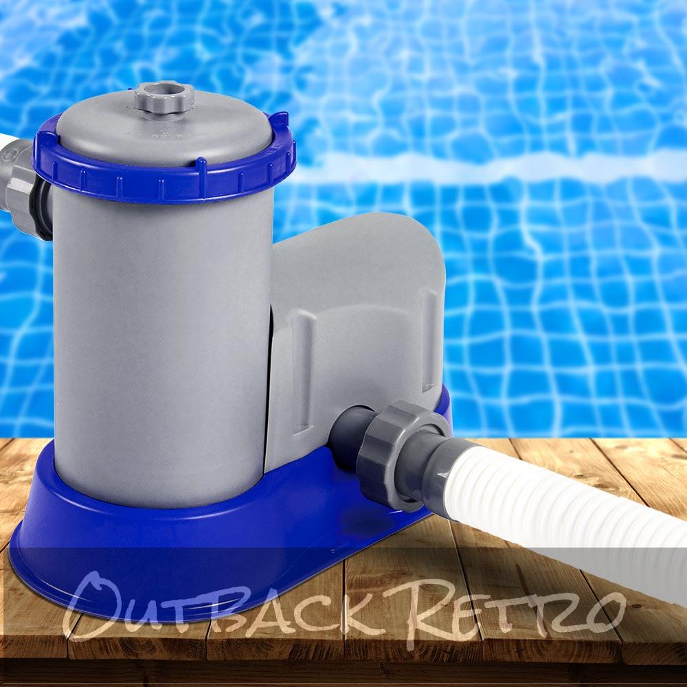 Bestway 1500 GPH Filter Pump Swimming Pool Cleaner