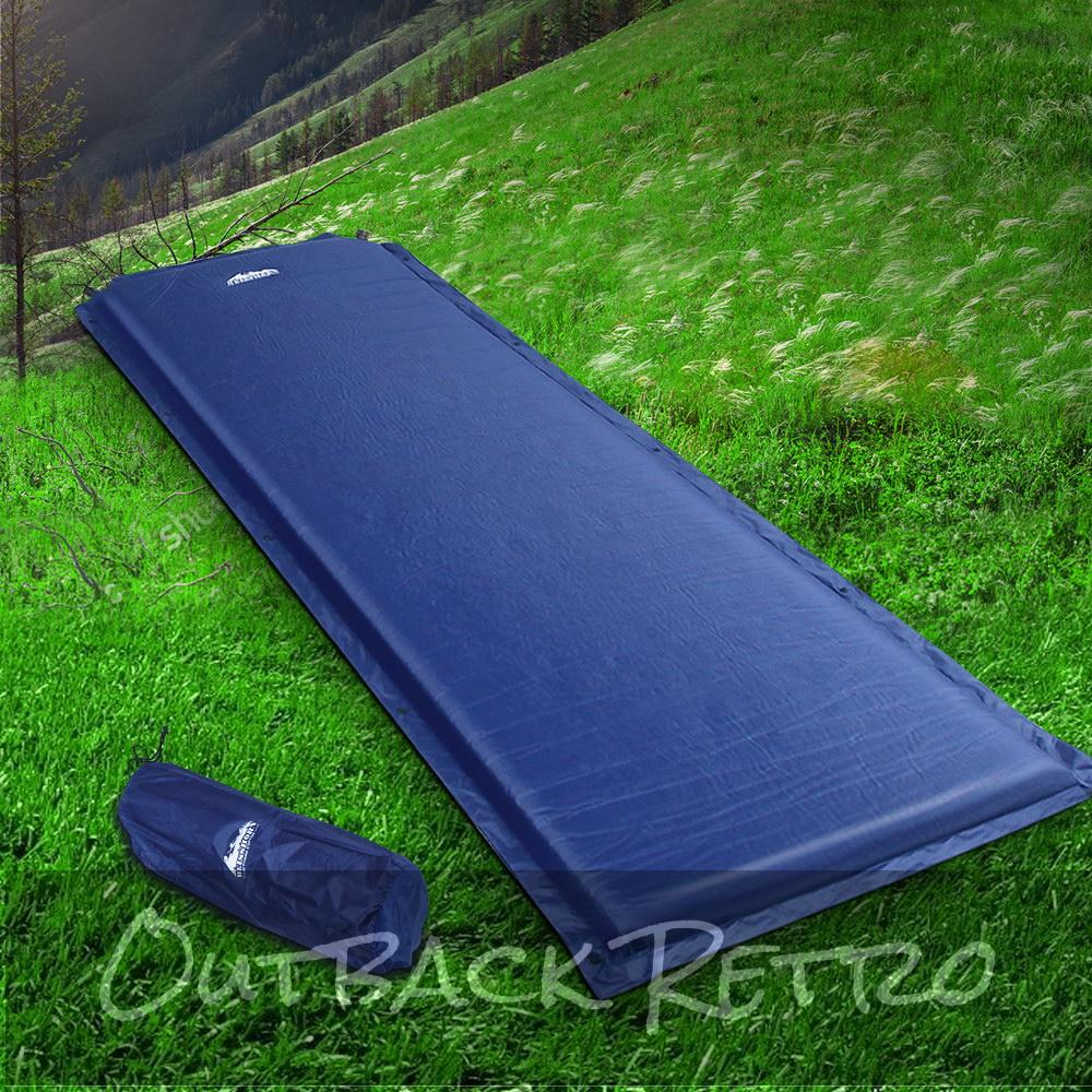 Weisshorn Self Inflating Mattress - Blue