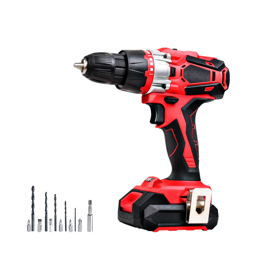 GIANTZ Impact Drill 20V Lithium Impact Cordless Drill - Charger and Battery Included