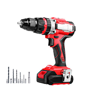 GIANTZ Hammer Drill Impact Cordless Brushless Drill Electric 20V Lithium Charger and Battery Included