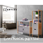 Artiss Buffet Sideboard Cabinet Storage Shelf Cupboard Hallway Table Sliding Door