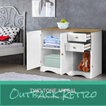 Artiss Buffest Sideboard Hallway Entrance Table - White