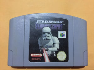 Nintendo 64 Star Wars Shadow of the Empire