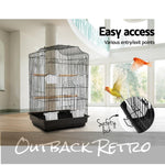 i.Pet Medium Bird Cage - Black
