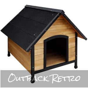 i.Pet Dog Kennel Wooden Pet House Extra Large
