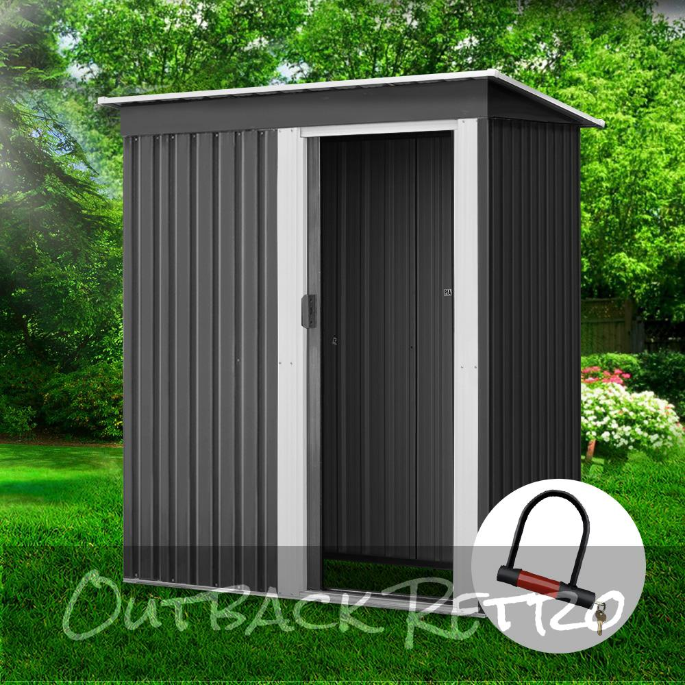 Giantz 1.64x0.89M Garden Shed Outdoor Storage Sheds Tool Workshop Shelter Metal