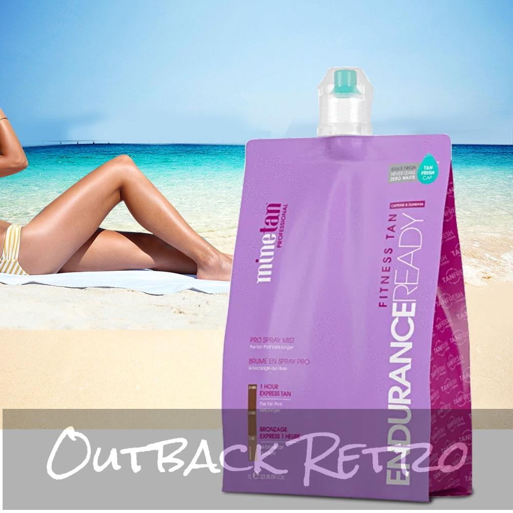 MineTan Spray 1 Liter Tan Solution 1 Hour 2 HR Tanning Sunless Liquid Endurance
