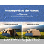 Weisshorn Instant Up Camping Tent 8 Person Pop up Tents Swag Family Hiking Dome Beach