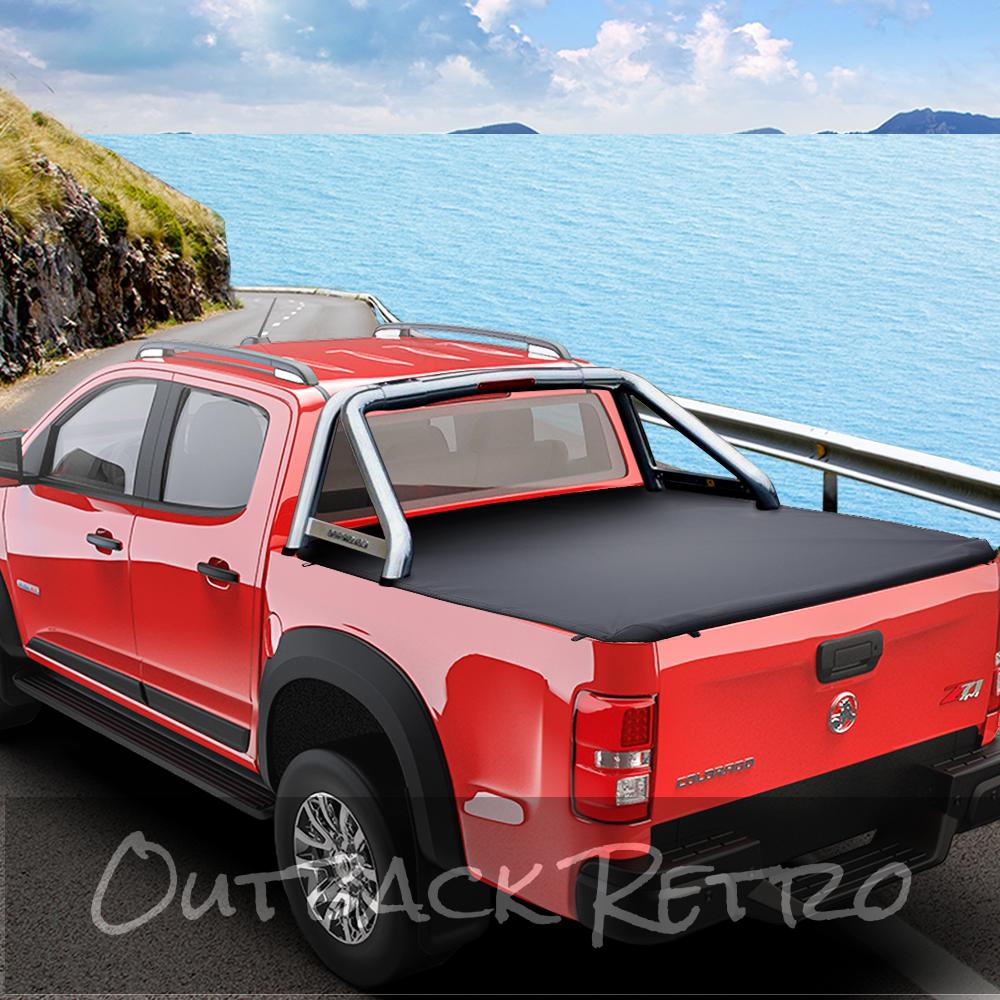 Weisshorn Fit Holden Colorado RG Dual Cab Tonneau Cover Clip UTE Pick Up Truck