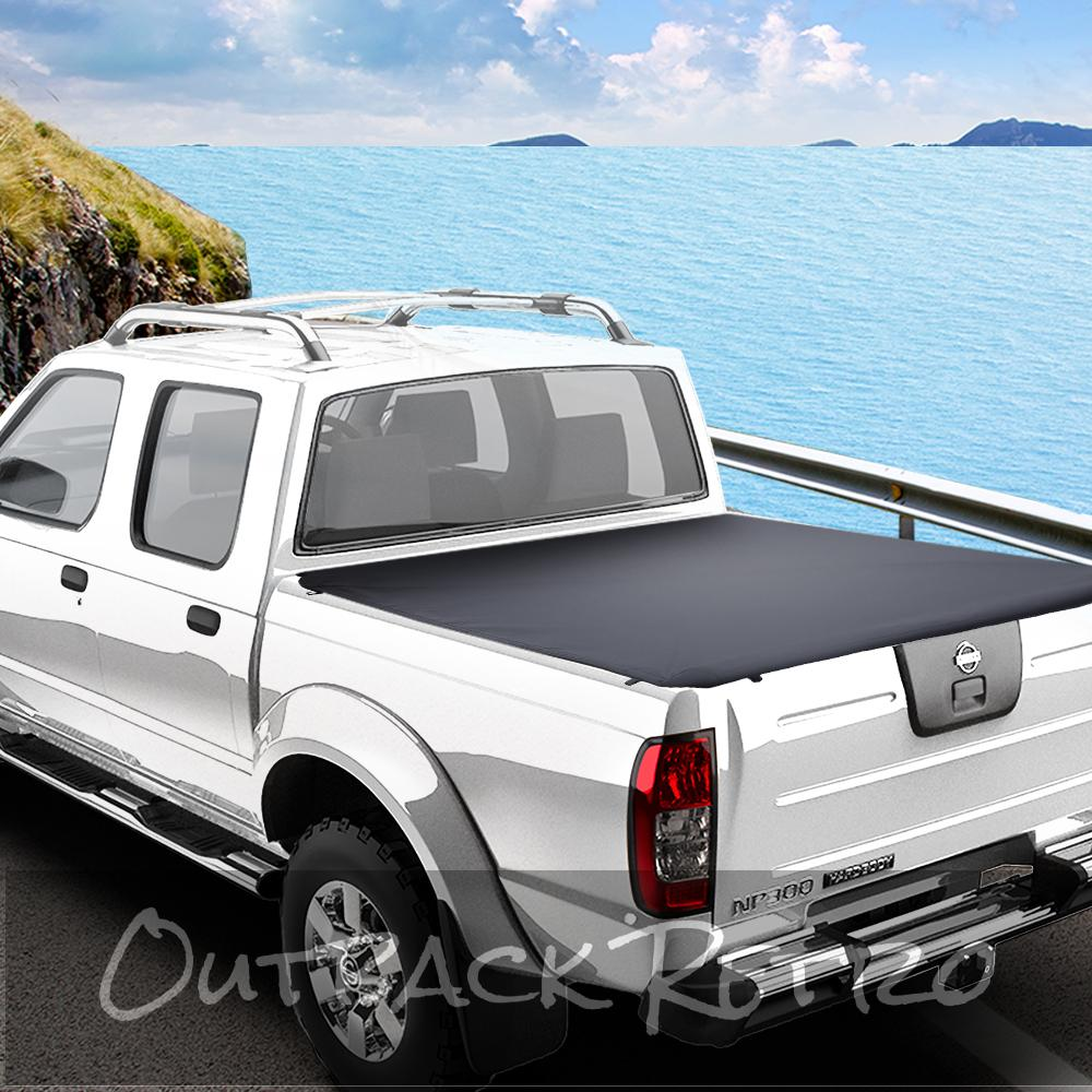 Weisshorn Fit Nissan Navara NP300 D23 Tonneau Cover Clip On UTE Pick Up Truck
