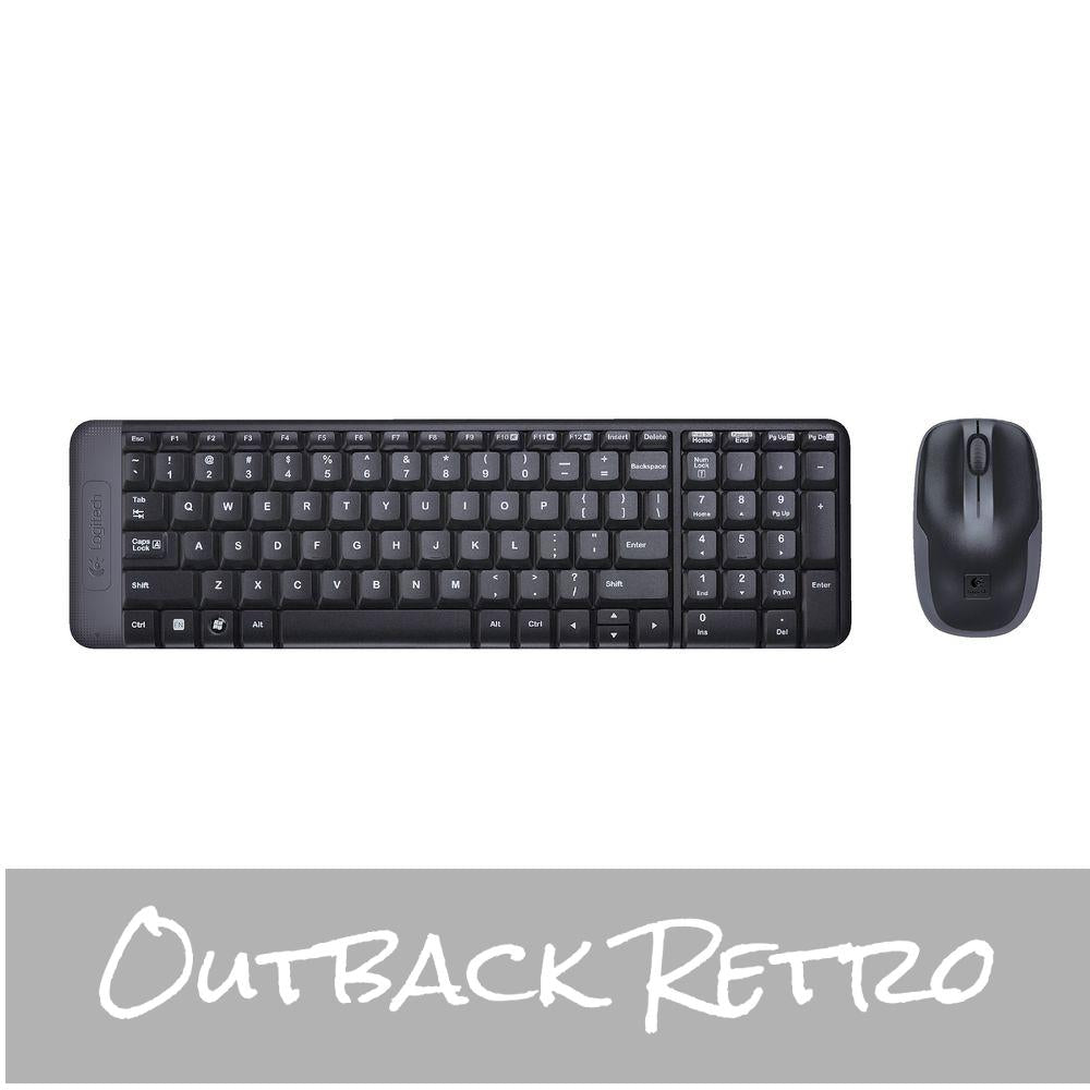 Logitech MK220 Wireless keyboard mouse - 920-003235