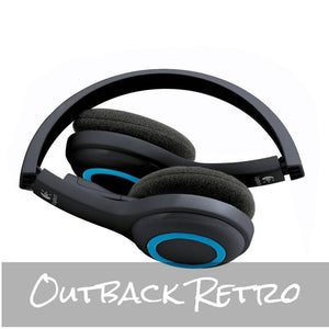 Logitech H600 WIRELESS USB HEADSET - 981-000462