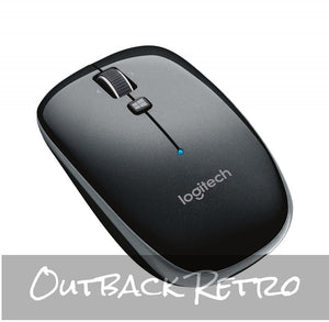 910-003960: Logitech M557 Bluetooth Mouse - Grey