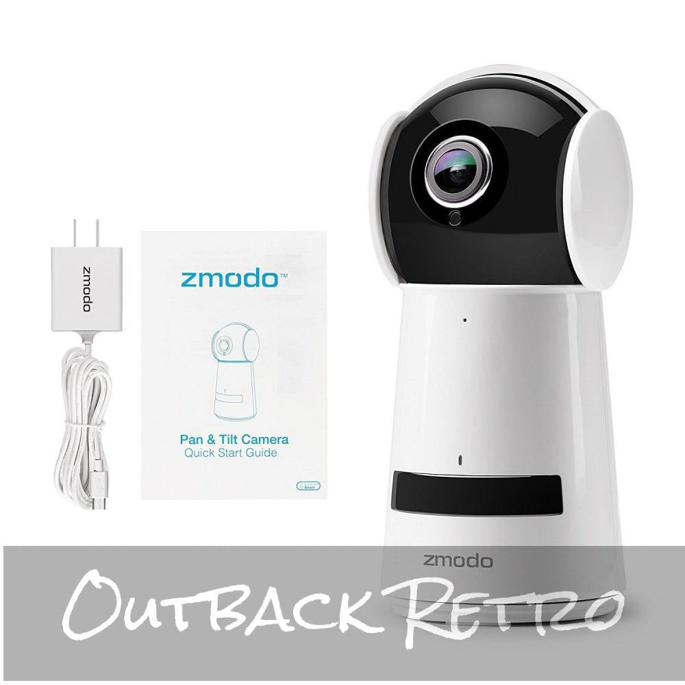 Zmodo Wireless 1080p Pan Tilt Smart HD WiFi Two-Way Audio Camera Night Vision