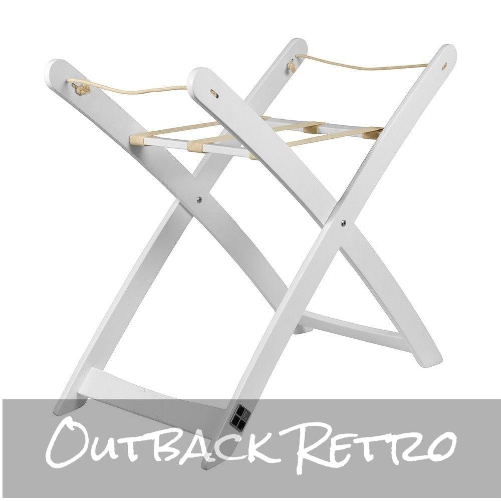 Bbc Moses Basket Stand  - White
