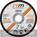 125mm 5 Cutting Disc Wheel for Angle Grinder x25""