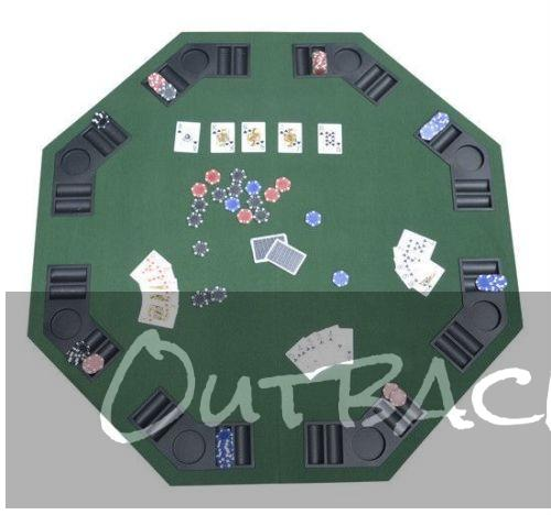 48 Folding Poker & Blackjack Table""